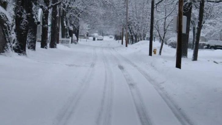 Atenționare de la meteorologi! Strat de zăpadă de 15 centimetri în București - miercuri dimineață