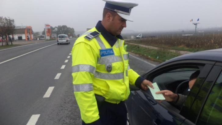 polițiști în trafic