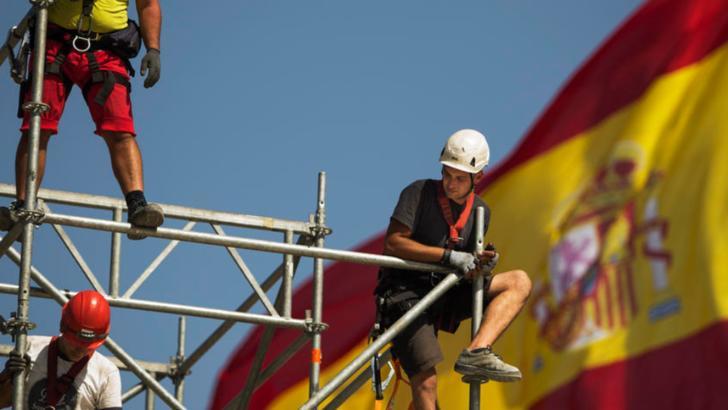 spania steag muncitori