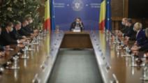 Prima ședință a Guvernului de coaliție condus de premierul Florin Cîțu, 23 decembrie 2020 Foto: Inquam Photos / George Calin