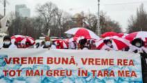 VIDEO Proteste al cadrelor medicale în aproape toată țara. Angajații din Sănătate sunt nemulțumiți de înghețarea salariilor