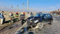 Accident Urziceni Foto: ISU Ialomița