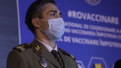 Valeriu Gheorghiță, coordonatorul campaniei naţionale de vaccinare anti COVID-19 Foto: Inquam Photos/Octav Ganea