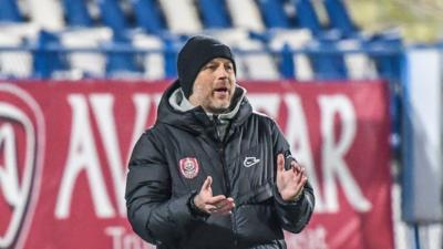 """VIDEO   Edi Iordănescu, mesaj pentru arbitri și Gigi Becali, înaintea meciului cu Gaz Metan: """"Am văzut practicile murdare"""""""