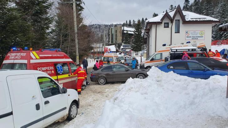 Doi copii au căzut într-un râu, după ce tatăl lor a produs un accident cu ATV-UL