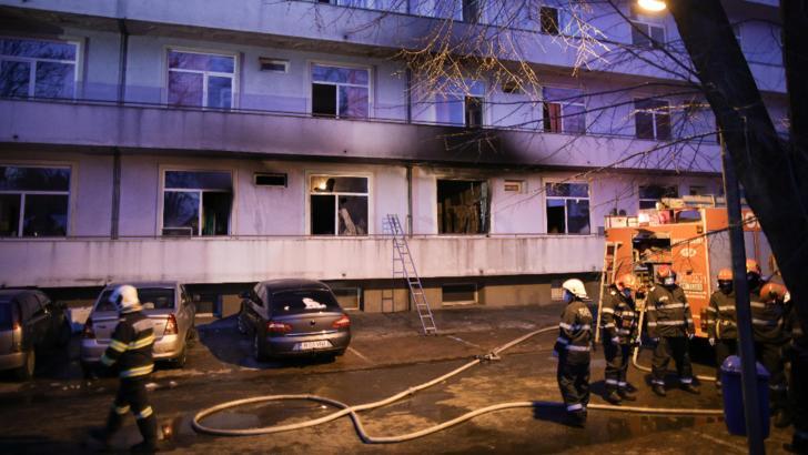 Incendiu Matei Balș. Încă un pacient transferat a murit: bilanțul a ajuns la 6 decese