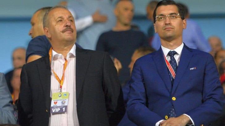 Vasile Dîncu și Răzvan Burleanu
