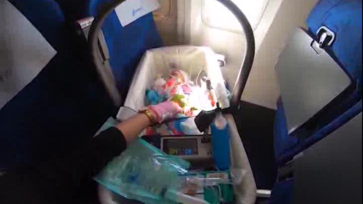 Doi copii cu malformații cardiace au fost transportați de la Iași la Milano. Cum se simt micuții