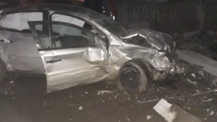 Doi tineri răniţi într-un accident rutier produs într-o localitate din Teleorman