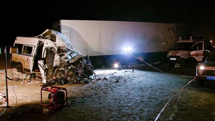 Accident rutier grav în Rusia: 12 morți, 12 răniți Foto: Euronews.com
