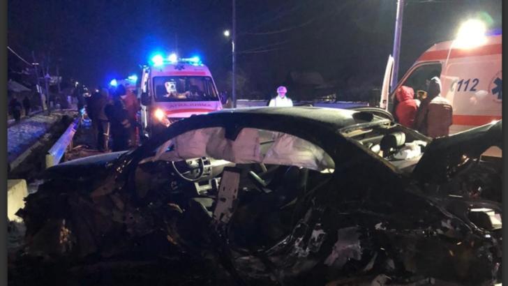 Accident cu cinci victime, în Teleorman! Unul dintre şoferi este încarcerat, inconştient, cu semne vitale