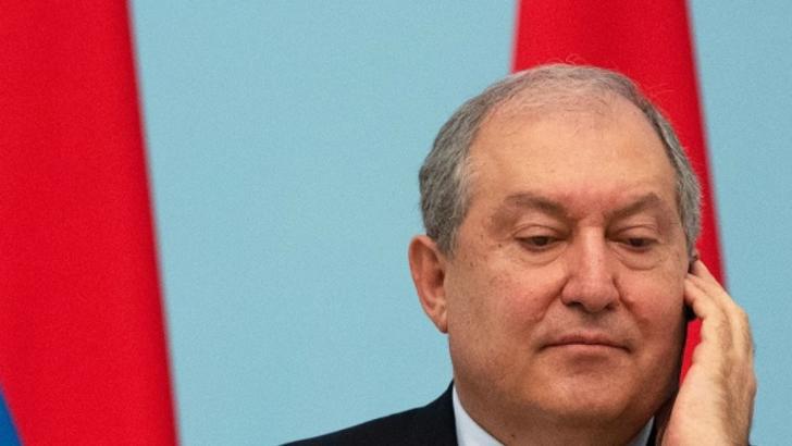 Armen Sarkissian, presedintele Armeniei