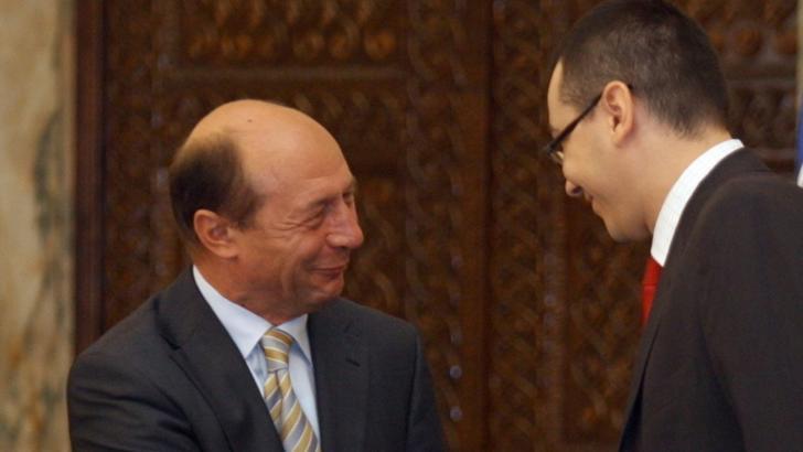 Traian Băsescu și Victor Ponta