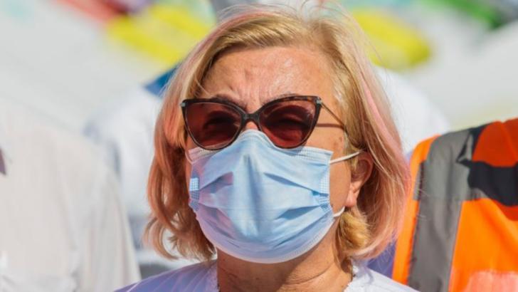 Carmen Dorobăț- medic primar infecționist la Spitalul de Boli Infecțioase Iași