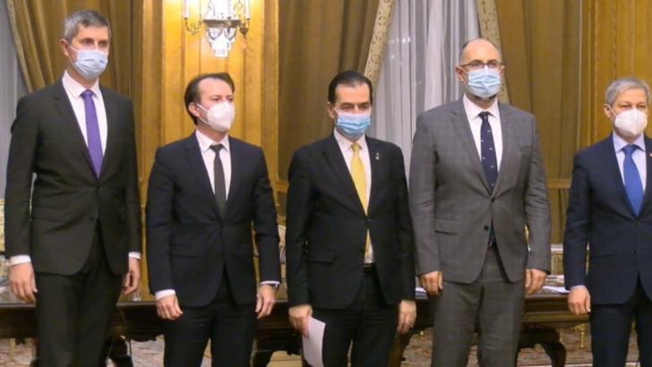 Premierul Cîțu a stabilit atribuţiile vicepremierilor Kelemen Hunor şi Dan Barna