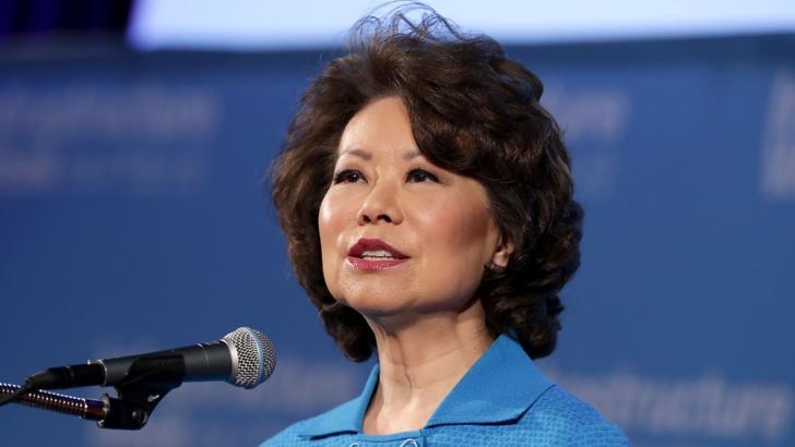 Elaine Chao, secretarul pentru Transporturi în Administrația Trump, și-a anunțat demisia după violențele din 6 ianuarie 2020 din Congresul american, la validarea lui Joe Biden ca președinte ales al SUA