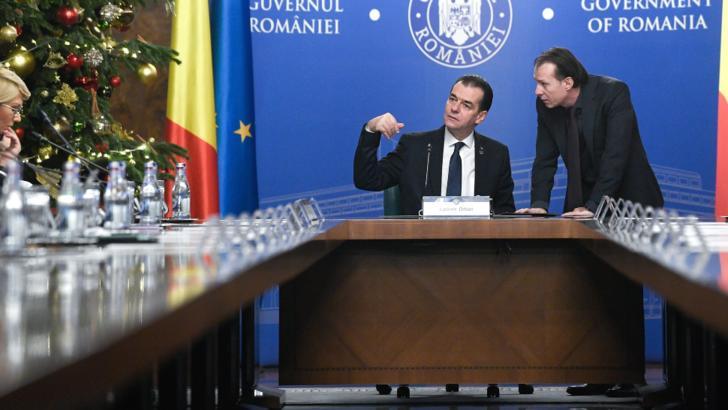 Ludovic Orban explica de ce l-a sustinut pe Florin Citu ca succesor al sau la Palatul Victoria