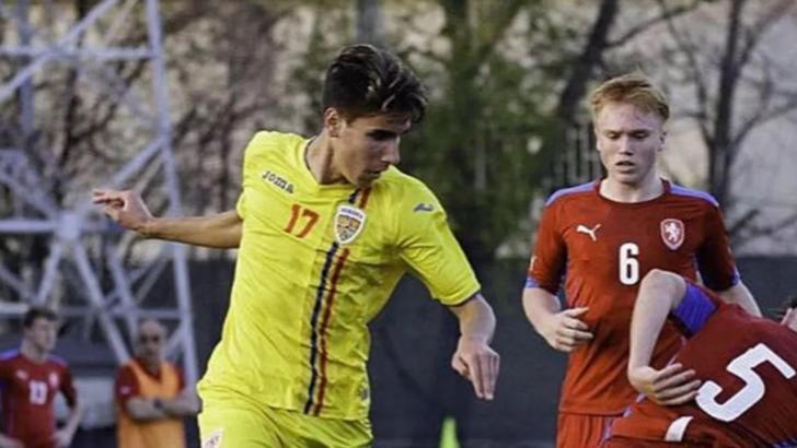 Unul dintre cei mai talentati tineri fotbalisti romani va juca pentru alta nationala