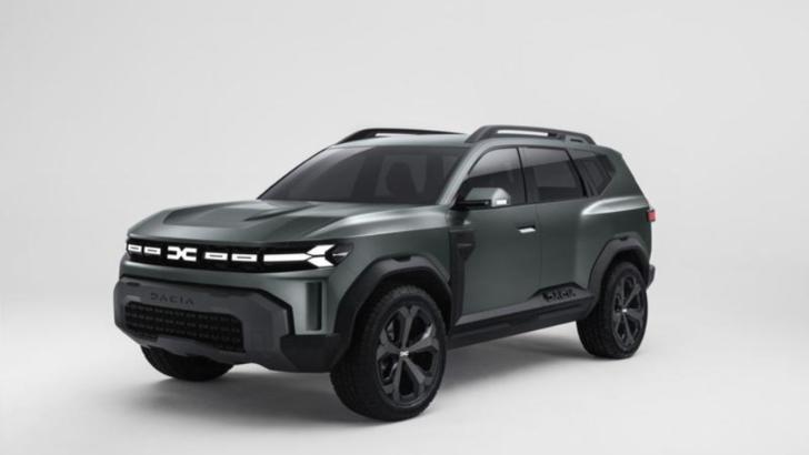 FOTO Cum arată Dacia Bigster. Planuri comune cu Lada