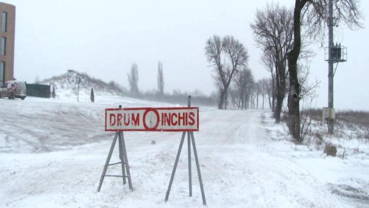 Toate drumurile județene și naționale din județul Constanța s-au închis! Excepție fac DN 39 şi A2