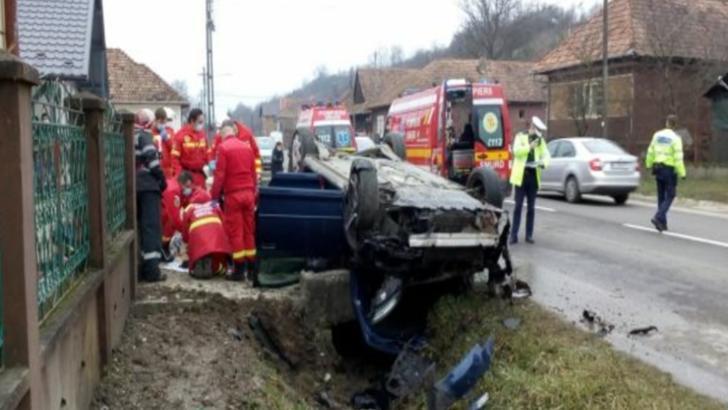 Și-a găsit sfârșitul într-un cap de pod! O femeie a murit pe şoseaua Zalău după un accident rutier cumplit Foto: realitateadesalaj.net