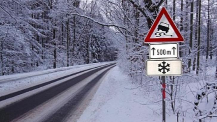 Vremea - Ninge la munte