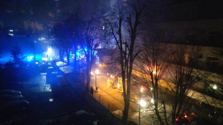 Incendiu la Institutul