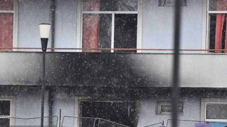 """Incendiu la Institutul """"Matei Balș"""", 29 ianuarie 2021"""
