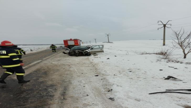 Accident cu patru victime la Hârșova. Copil în comă