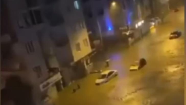 Inundatii masive in Turcia. Foto: captura YouTube