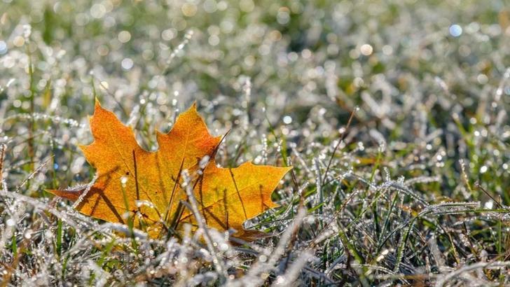 Vreme deosebit de rece în România
