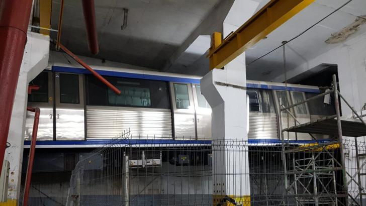 FOTO  Cum arată Metroul Zburător din stația Berceni, la doi ani de la Accident