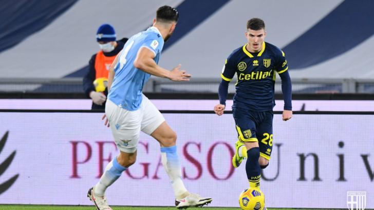 Mihăilă a spart gheața la Parma! A marcat primul gol și a fost desemnat cel mai bun jucător al echipei