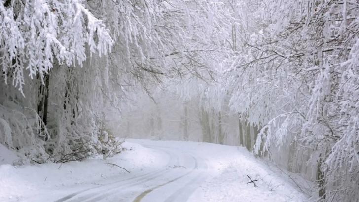 Vremea se schimbă radical: atenționare meteo cod GALBEN de ninsori viscolite - HARTA