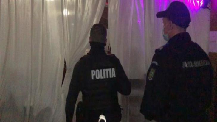 Nuntă oprită de polițiști în Tecuci: 140 persoane participau la eveniment