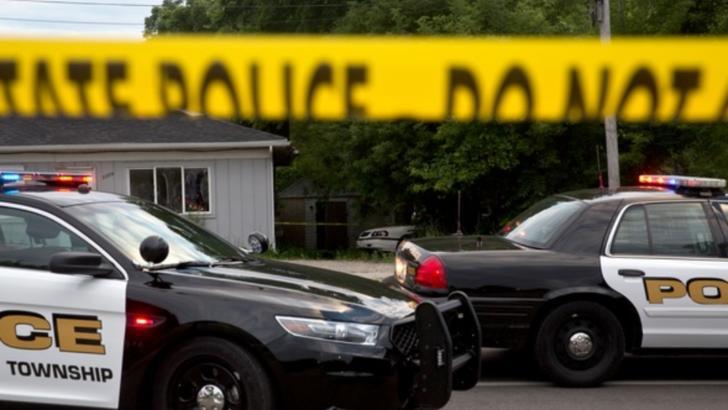 Suspectul ar fi fugit de la locul crimei la volanul unei mașini de teren