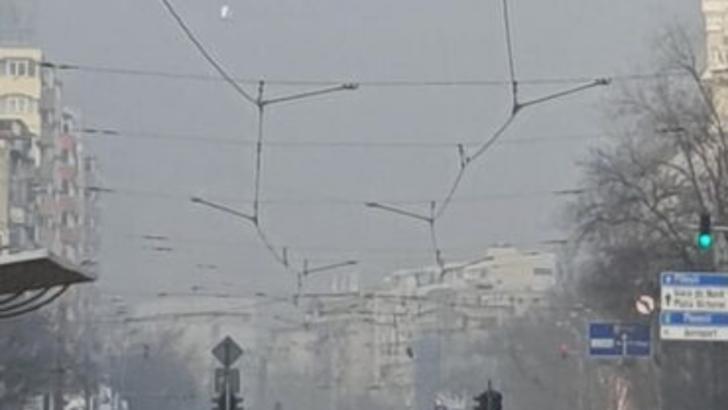 Noi depășiri ale cotelor de poluare a aerului în București, marți seară