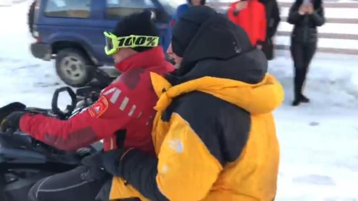 Un constănțean a fost recuperat de salvamontiști după două nopți sub cerul liber, aproape de Vârful Omu Foto: Facebook.com/svmtdb