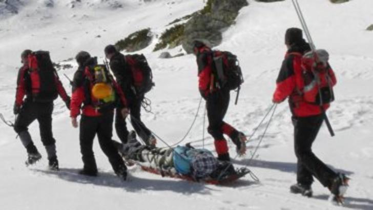 Tragedie la Sinaia: un ghid montan a murit în brațele colegilor de la Salvamont, după ce a căzut din picioare / Foto: Arhivă