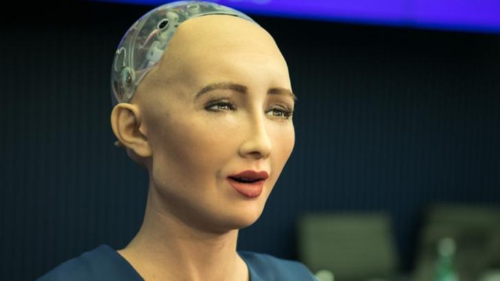 Robotul umanoid Sophia