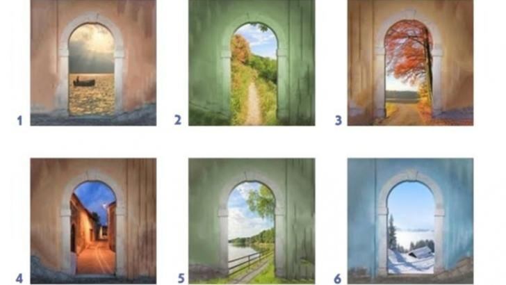 Alege o ușă și vezi ce se spune despre personalitatea ta