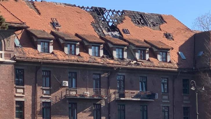 """Hotel """"Triumf"""" București Foto: Facebook.com/ClotildeArmand"""