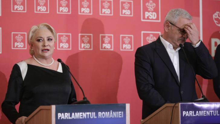 Viorica Dăncilă și Liviu Dragnea Foto: INQUAM PHOTOS - Octav Ganea