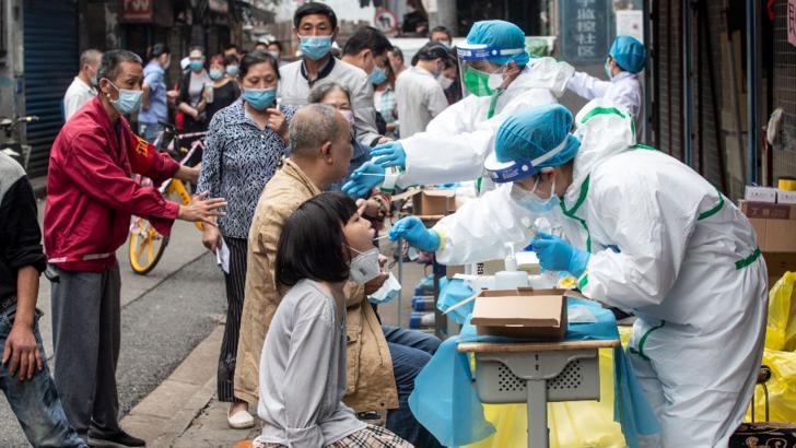 China nu este de acord cu un control amănunțit al OMS privind originea pandemiei. Foto arhivă