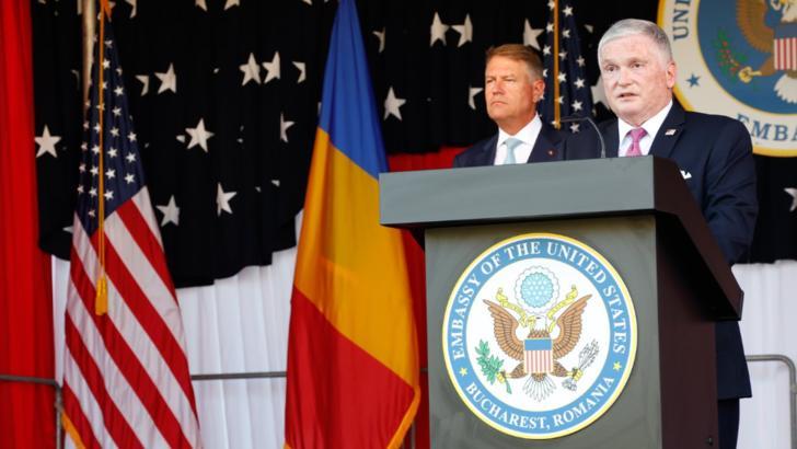 Adrian Zuckerman, ambasadorul SUA la București (2019-2021) Foto: Facebook.com