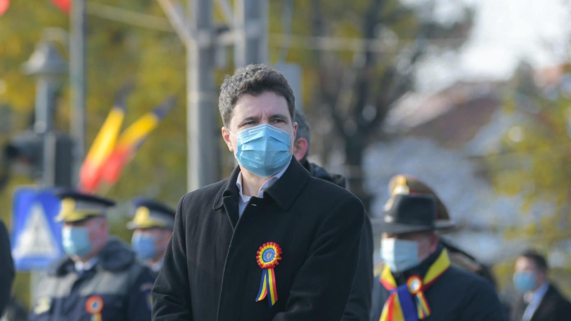 Nicușor Dan, primarul general al Capitalei, intră în carantină COVID-19 Foto: Inquam Photos/Octav Ganea