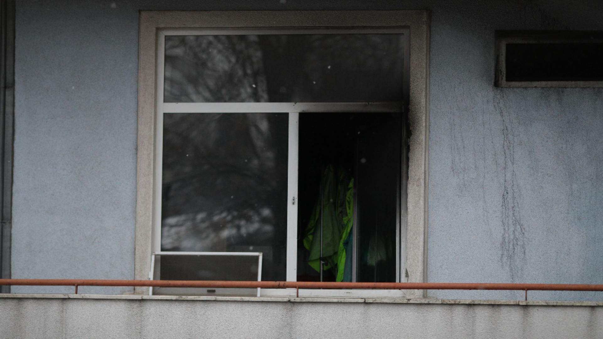 Incendiu Matei Balș, București