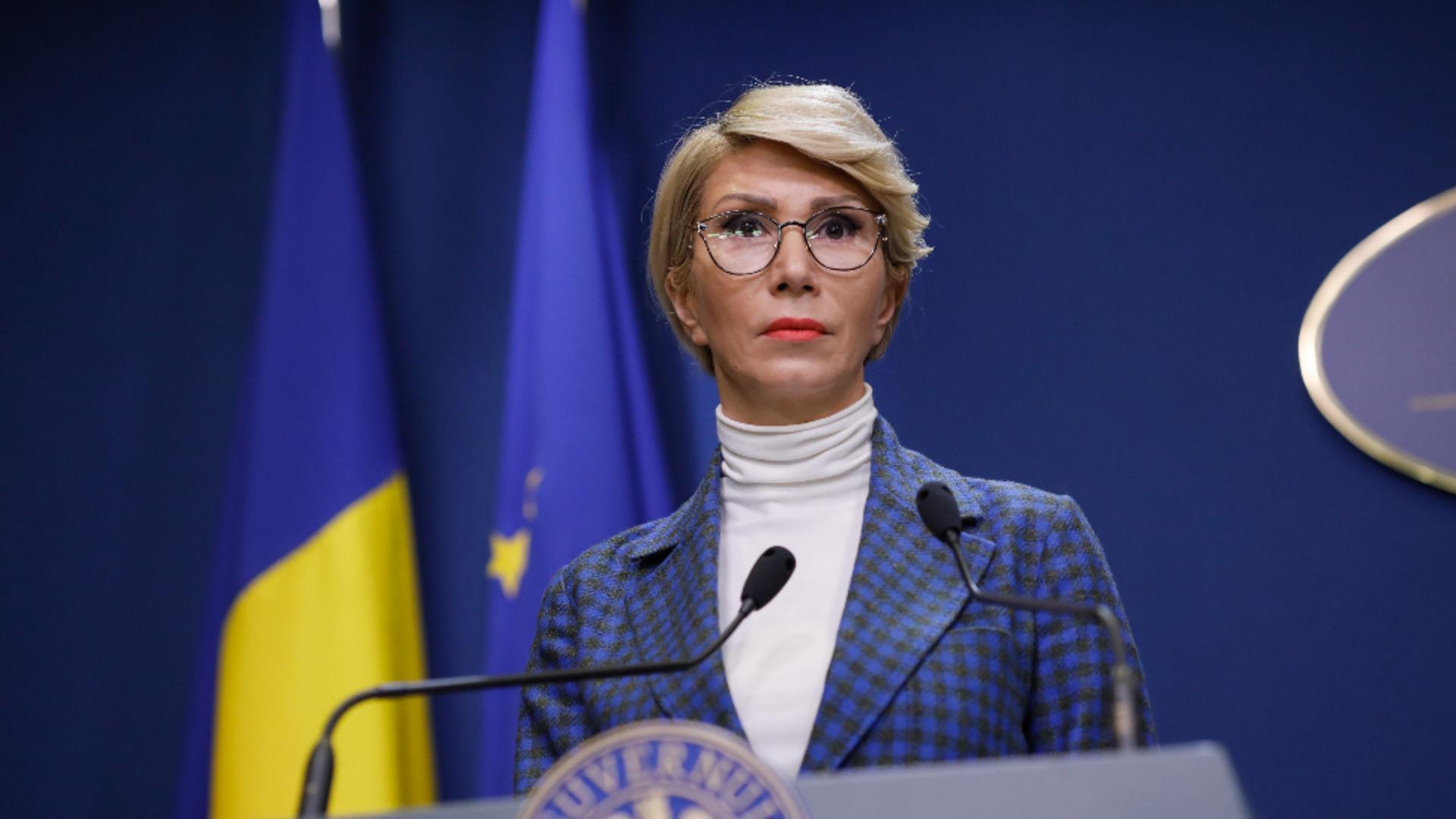 Raluca Turcan. Foto: Inquam / George Călin