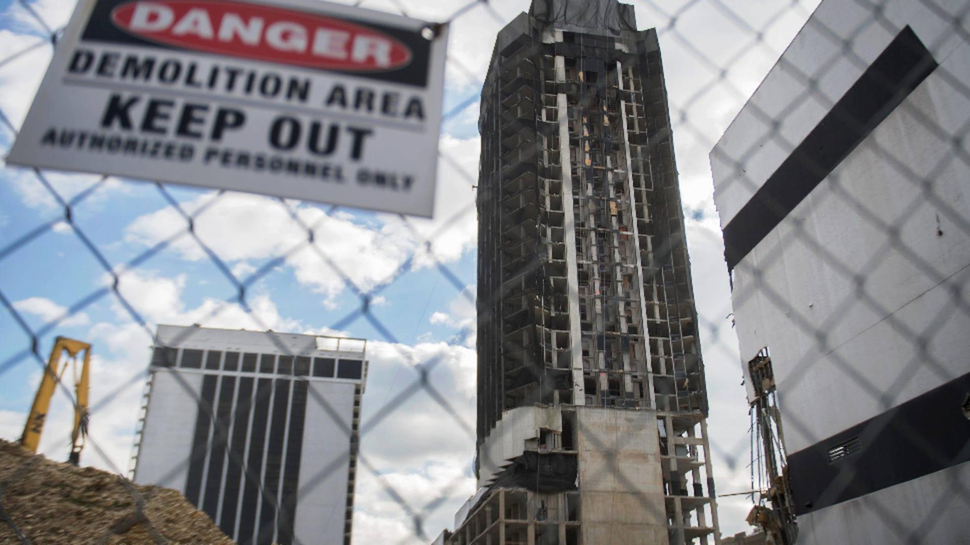 Demolare Trump Tower/foto: Profi Media