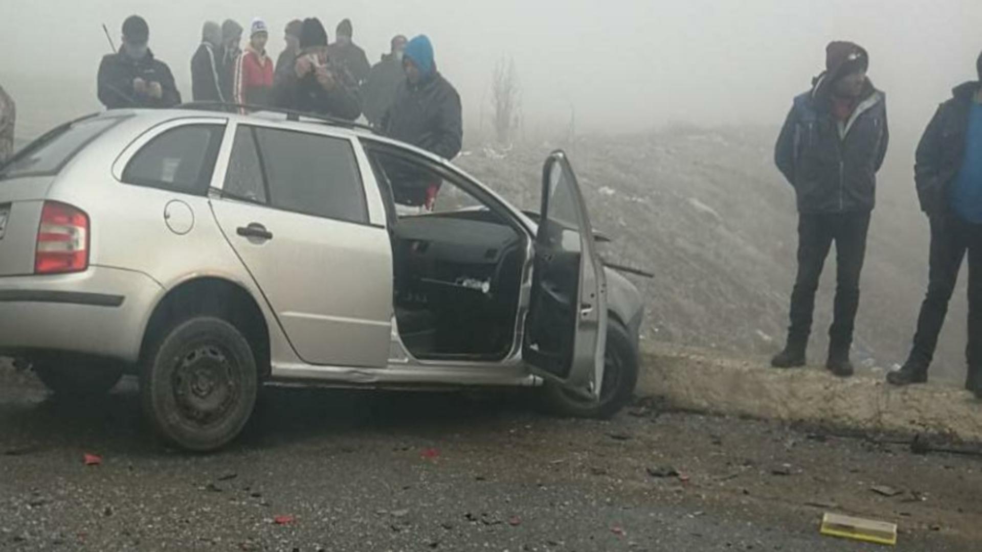 Accident județul Olt